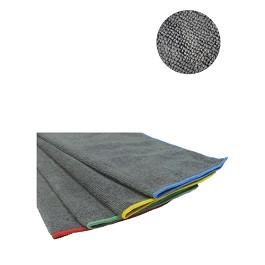 Οικολογικό Ρούχο από μικροϊνες (Microfiber) σε πακέτο του ενός / Jim Microfibre Cloth. Pack of one - Γκρίζο/ Κίτρινη - Size: 40x38cm.