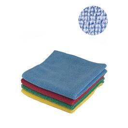 Οικολογικό Ρούχο από μικροϊνες (Microfiber) σε πακέτο των τεσσάρων / Terry Microfibre. Pack-4 - Πολύχρωμο - Μέγεθος: 40x38cm. Βάρος: 320 gr/m2.