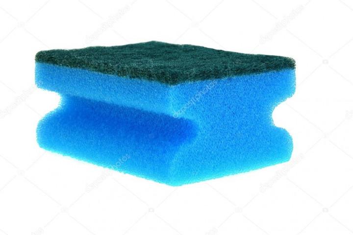 Kitchen Sponges. 24pcs - Blue  - 13 x 6.5 cm