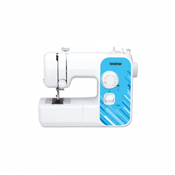 Brother X-14S - Small size -  Mechanical sewing machine