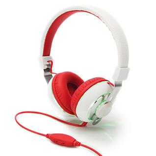 BeatLight-White - Headphones