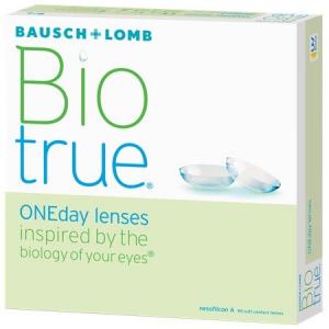 +3.00ds Biotrue Dailies 120 lenses