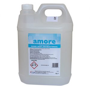 AMORE Antibacterial Hand Wash - Cotton - 4 L