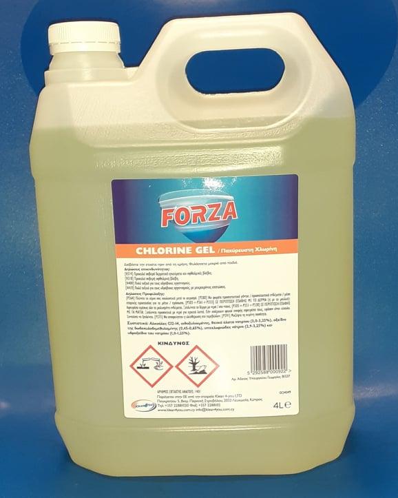 Forza Chlorine Gel - 4 L
