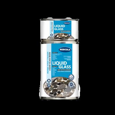 ΥΓΡΟ ΓΥΑΛΙ / ΕΠΟΞΕΙΔΙΚΗ ΡΗΤΙΝΗ - LIQUID GLASS/EPOXY RESIN - CLEAR - 3 KG