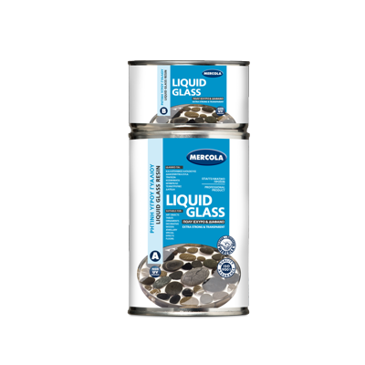 ΥΓΡΟ ΓΥΑΛΙ / ΕΠΟΞΕΙΔΙΚΗ ΡΗΤΙΝΗ - LIQUID GLASS/EPOXY RESIN  - CLEAR - 1 KG