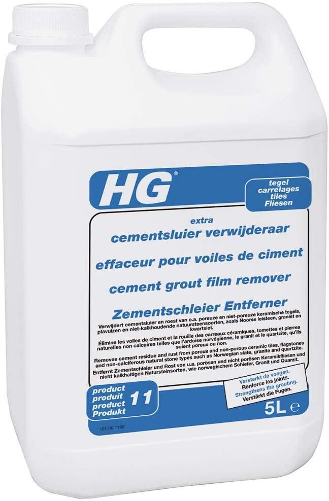HG Cement grout film remover - tiles 5L