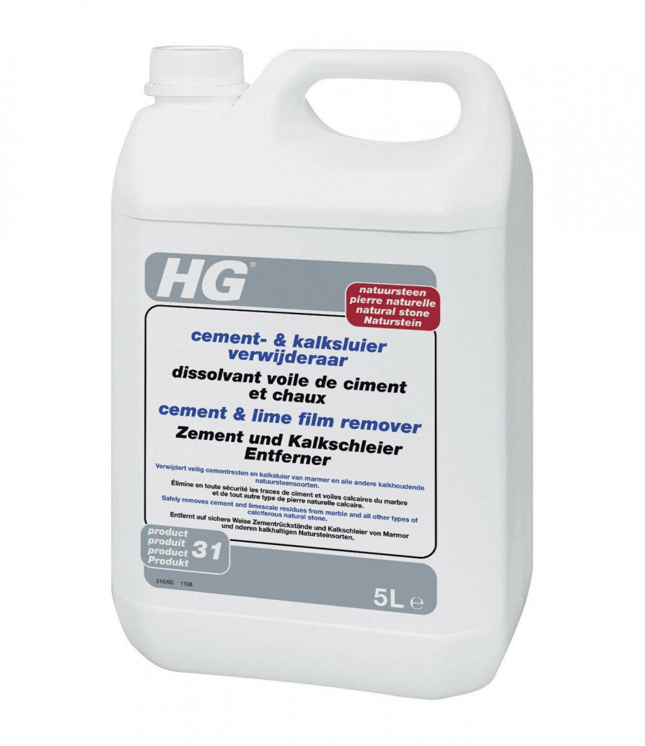 HG Cement & lime film remover - natural stone 5L