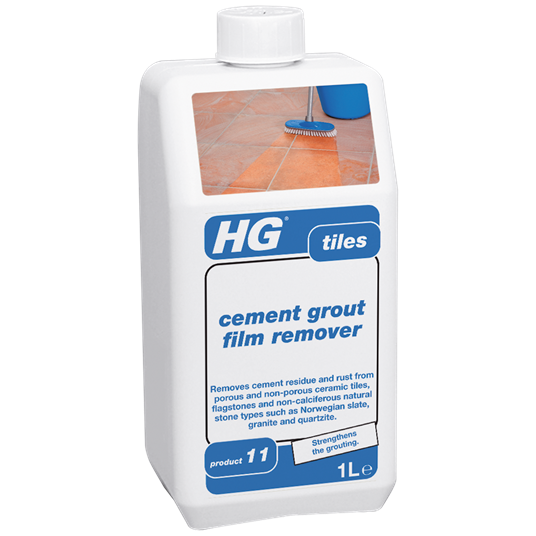 HG Cement grout film remover - tiles 1L