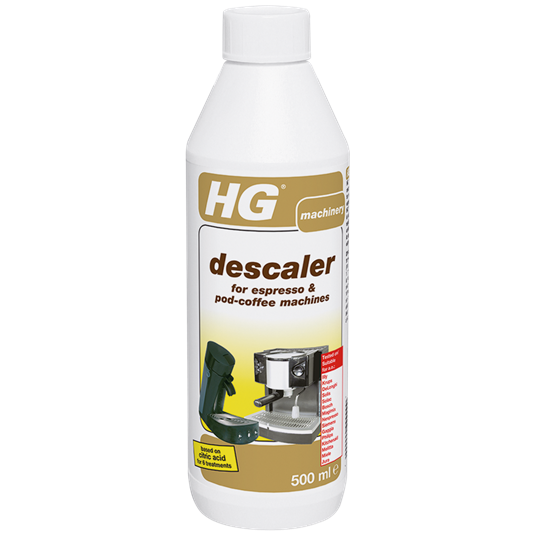HG Descaler for espresso and coffee pad machines 500ml