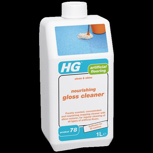 HG Nourishing gloss cleaner - artificial flooring 1L