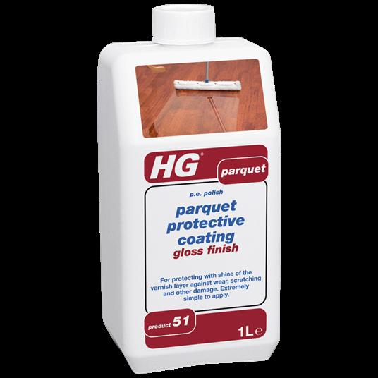 HG Parquet protective coating - gloss finish 1L (p.e polish)