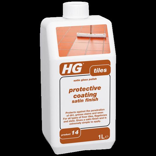 HG Tile protective coating - satin finish 1L (Golvpolish)