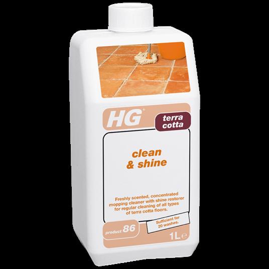 HG Terra Cotta Clean & Shine 1L
