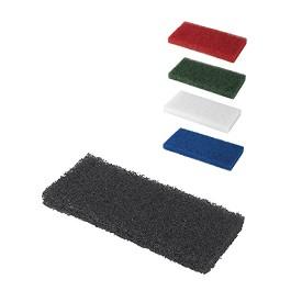 Hi Pro Black Rectangular pad for extra heavy-duty cleaning and stripping Τσόχα από ίνες για καθαρισμό και στίλβωση για εργαλεία χεριού  - Μαύρο / Black  - 12 x 25 x 2 cm