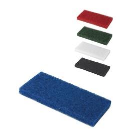 Μπλε ορθογώνια τσόχα από ίνες για καθαρισμό και στίλβωση ευαίσθητων επιφανειών - Μπλε / Blue - 12 x 25 x 2 cm