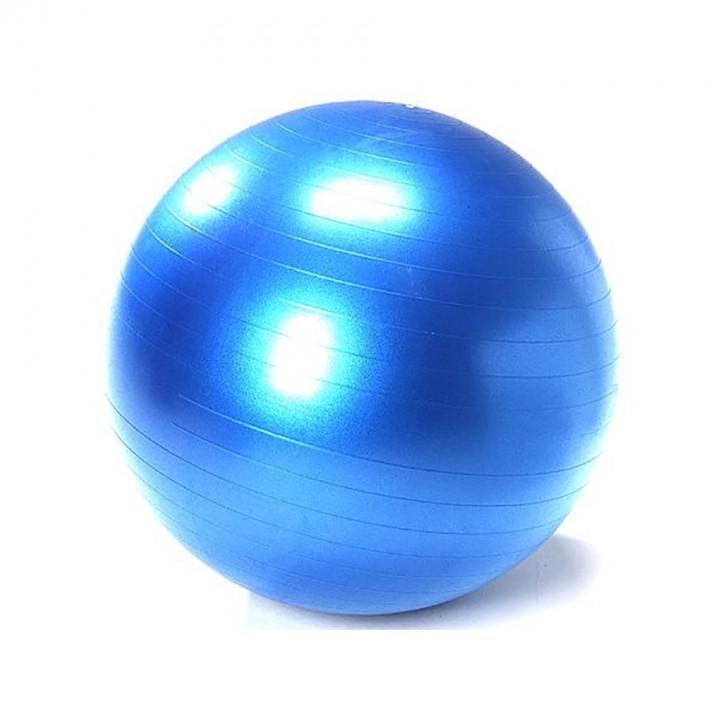 Anti-Burst Gym Ball - 75 cm (Blue) - blue