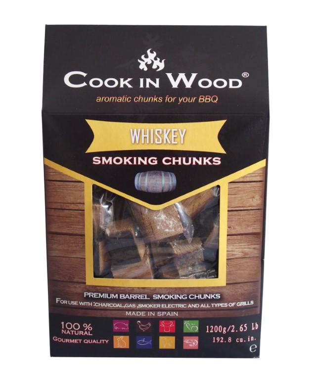 COOKINWOOD 1200gr WHISKEY SMOKING CHUNKS