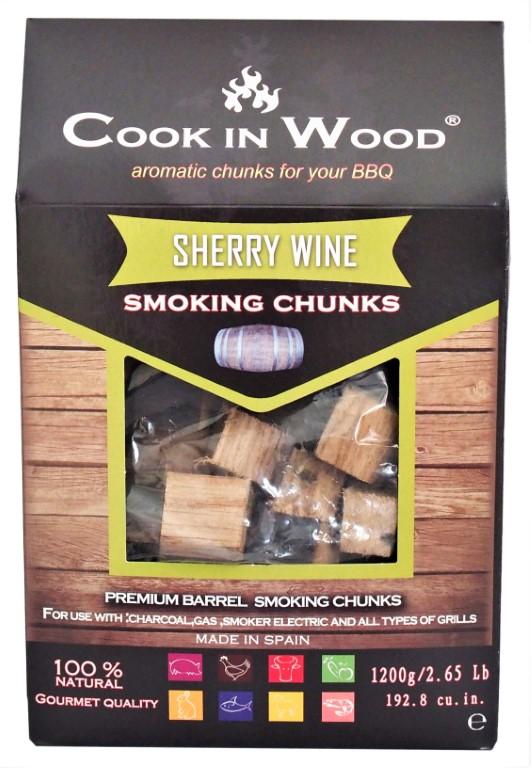 COOKINWOOD 1200gr SHERRY SMOKING CHUNKS