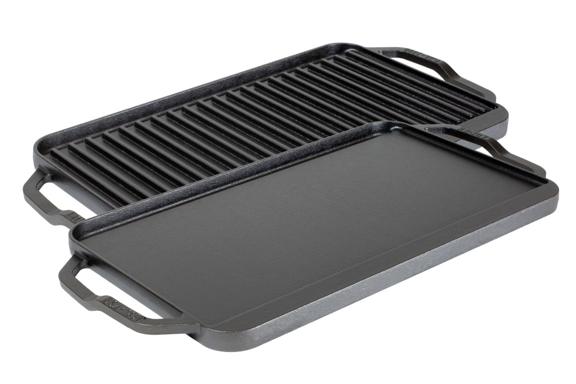 LODGE LCDRG Cast iron Griddle/Grill (Chef Collection)