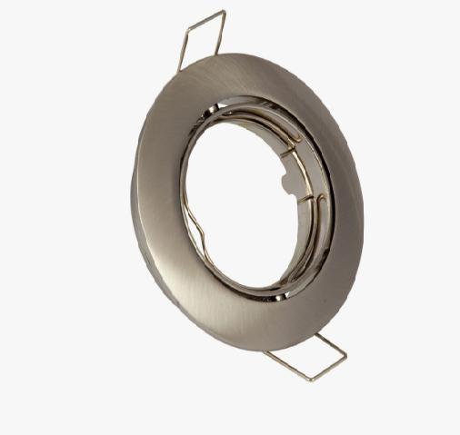 Spot recessed adjustable - Brushed chrome