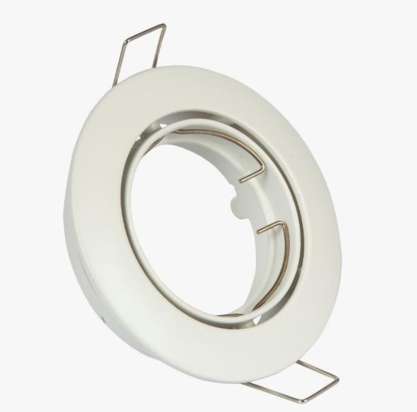 Spot recessed adjustable - White