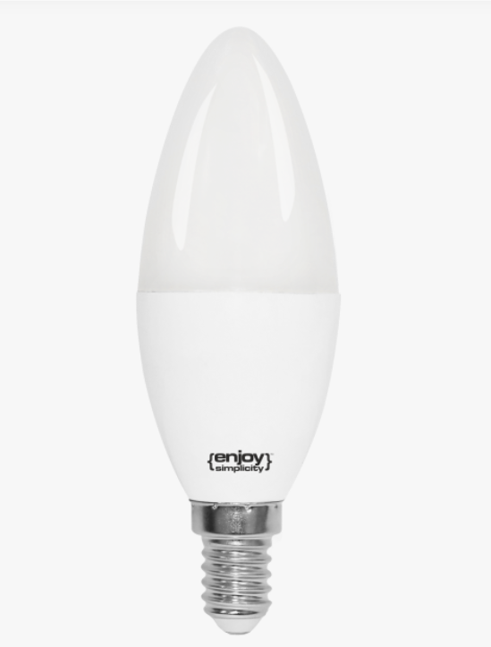 LED ENERGY SAVING LAMP 5.5W 220-240V E14 - 2700K