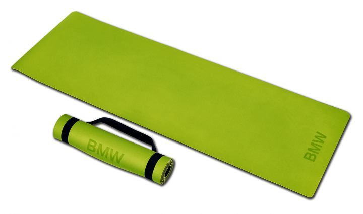 BMW Active mat - Dark Blue / Lime