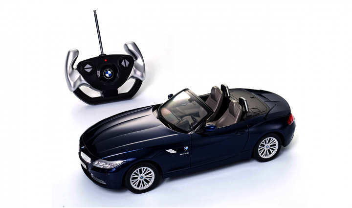 BMW toy car RC miniature Z4 - Blue
