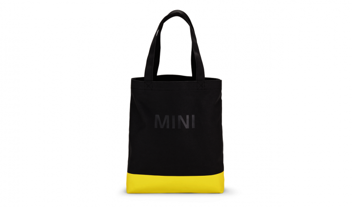 MINI Shopper Bag - Gray / Yellow
