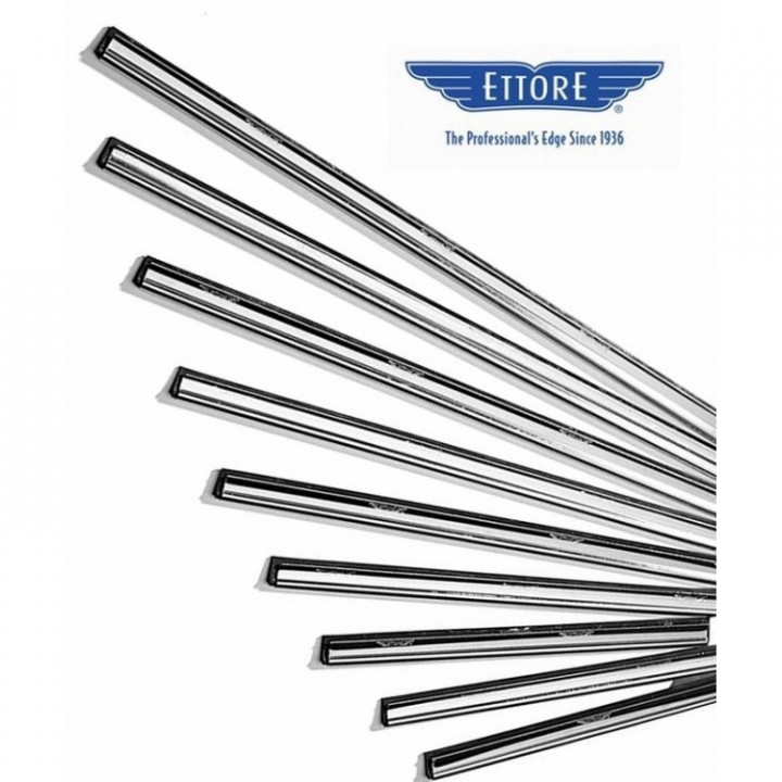 Stainless Steel Channel & Rubber 20''clipless / - 50 cm