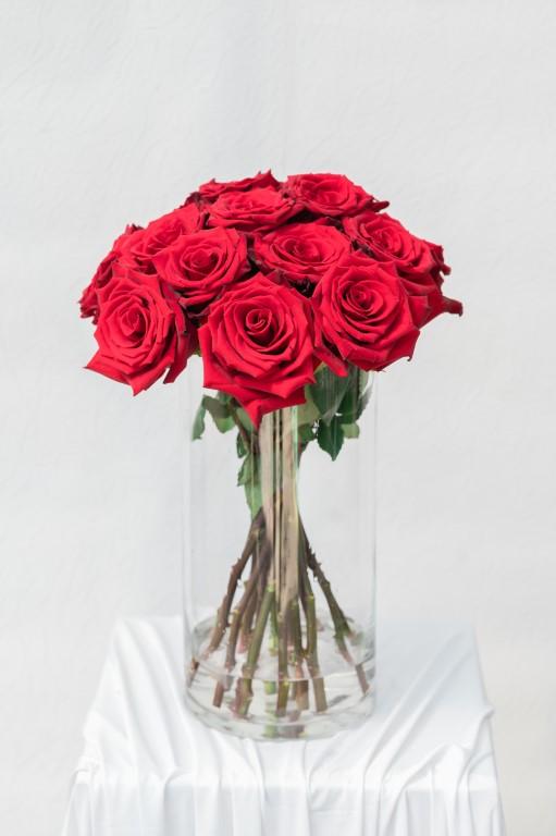THE MNI ROMANTIC - RED ROSE - 40x 30cm