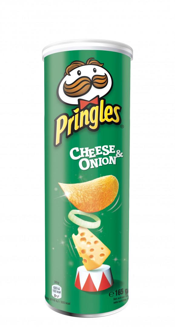 Pringles 165gr - Cheese & Onion