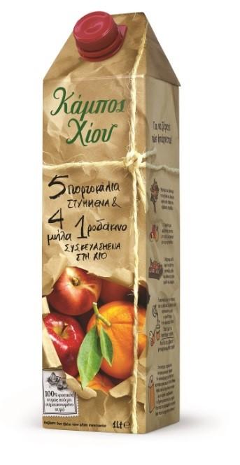 Kampos Chiou Juice 500ml - Mix