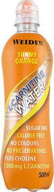 Weider l-carnitine water 500ml - Sunny Orange
