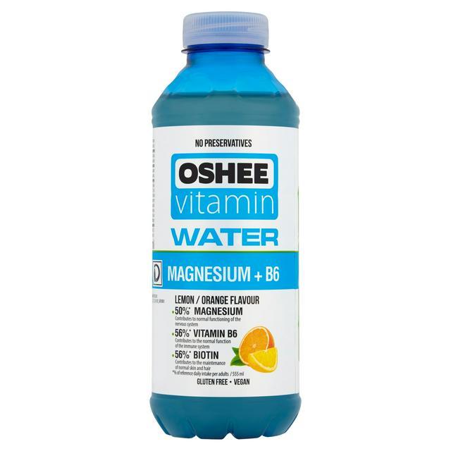 Oshee vitamin water 555ml - Lemon Orange