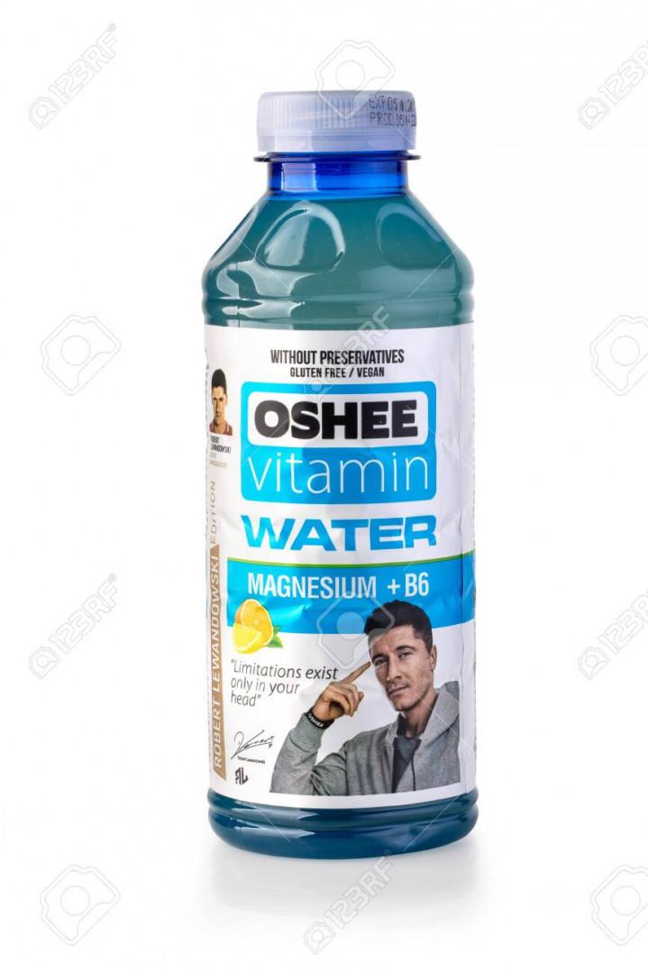 Oshee vitamin water 555ml - Lime Lemon