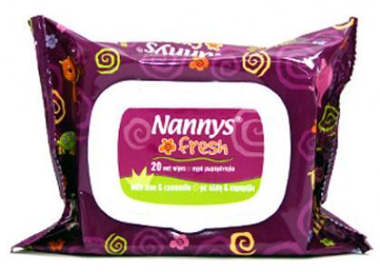 Nannys Fresh 20 wipes