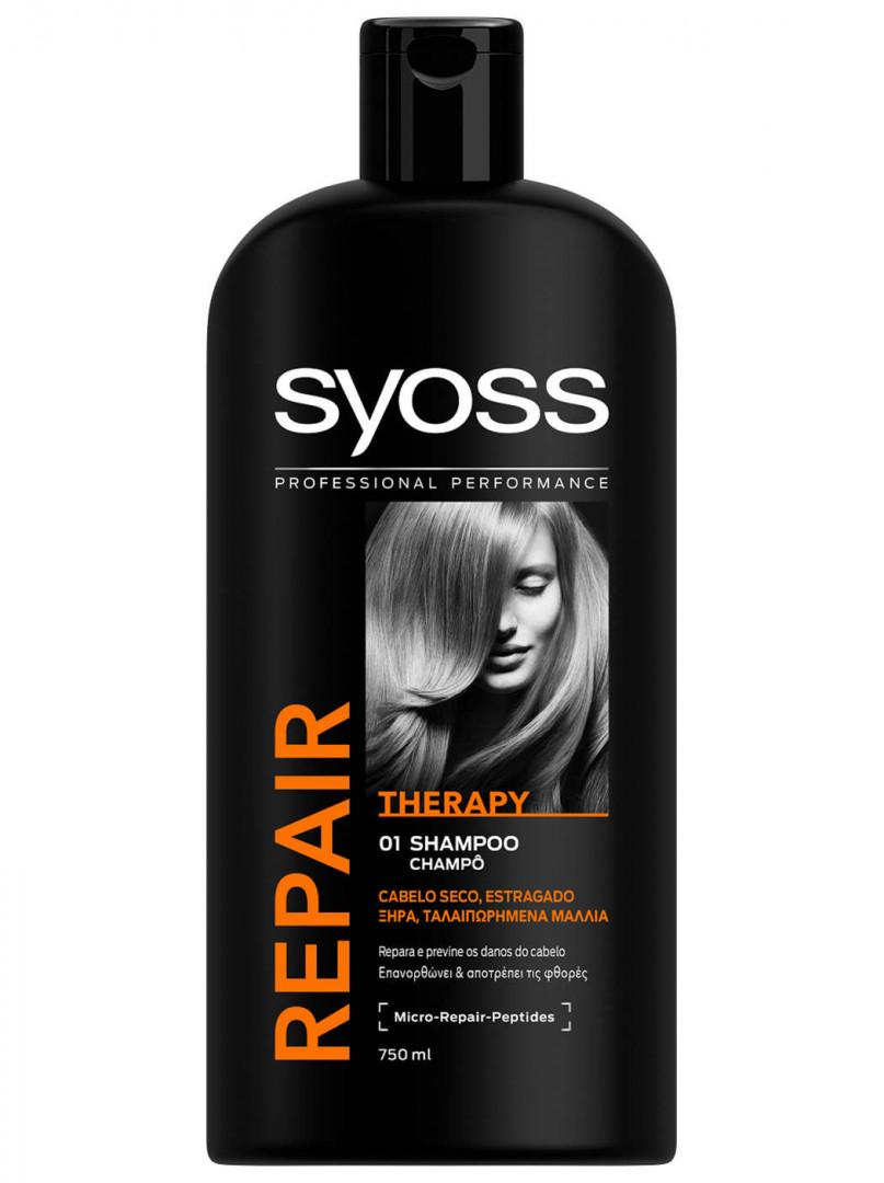 Syoss Shampoo 750ml - Repair therapy