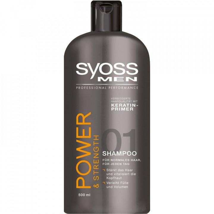 Syoss Shampoo 750ml - Power