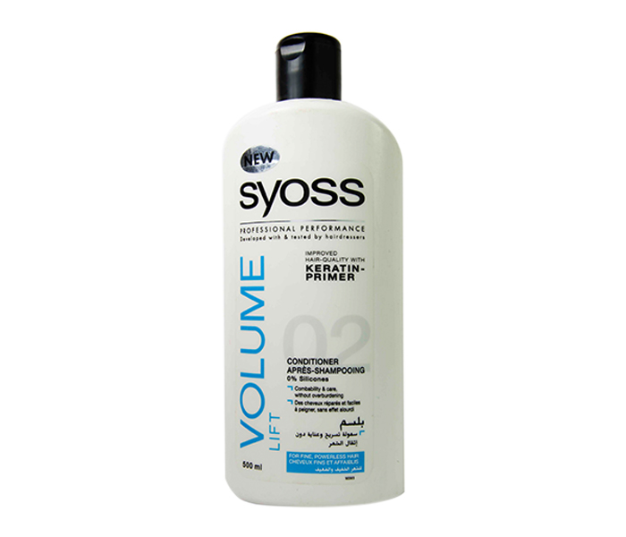 Syoss Conditioner 500ml - Volume