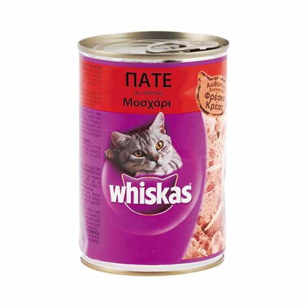 Whiskas 400gr - Beef pate