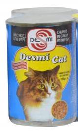 Desmi Cat Chunks 410gr - Fish