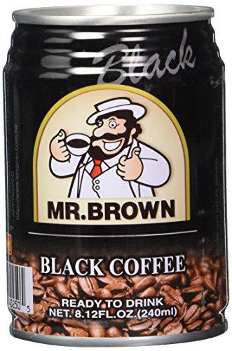Mr. Brown 240ml - Black