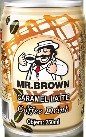 Mr. Brown 240ml - Latte Caramel