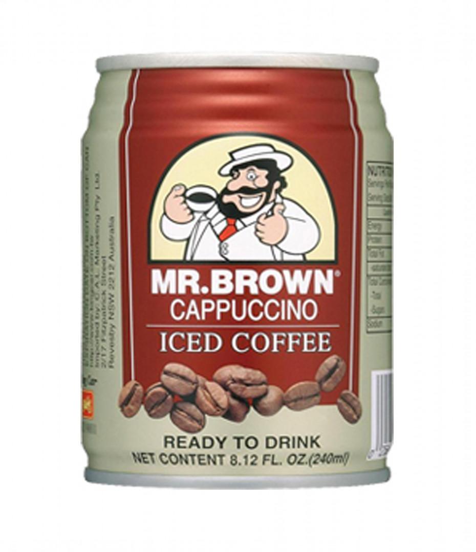 Mr. Brown 240ml - Cappuccino