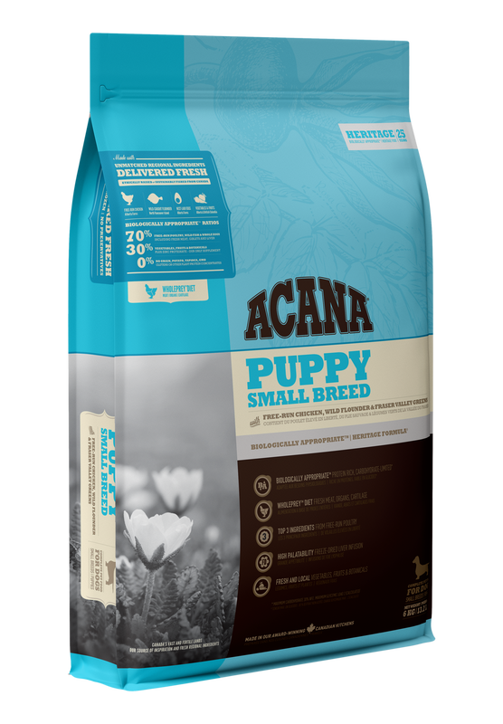 ACANA Heritage  Puppy & Small Breed 340g