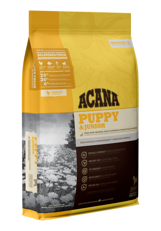 ACANA Heritage  Puppy & Junior 340g