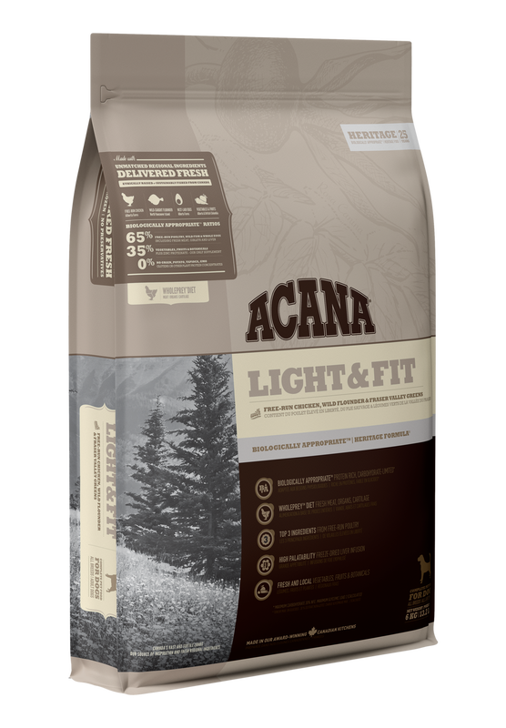 ACANA Heritage  Light & Fit (Adult) 11.4kg