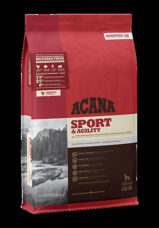 ACANA Heritage  Sport & Agility (Adult) 17kg